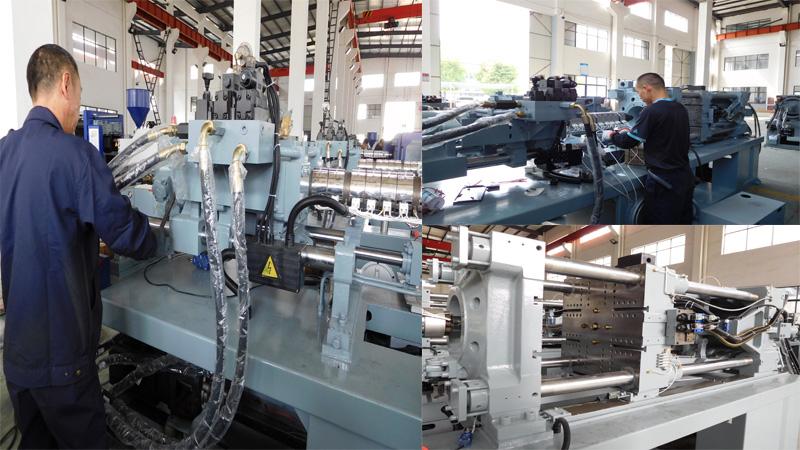Máquina de moldeo por inyección servo 268 toneladas